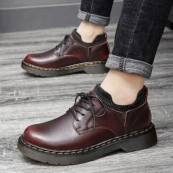 Brand Formal Fashion Flats Men Footwear