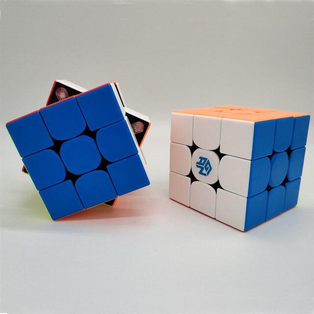 Newest GAN356 M 3x3x3 Magnetic magic Cube stickerless 3x3 Speed Cube GAN 356 Professional Puzzle Gan Cube Educational Toys 5