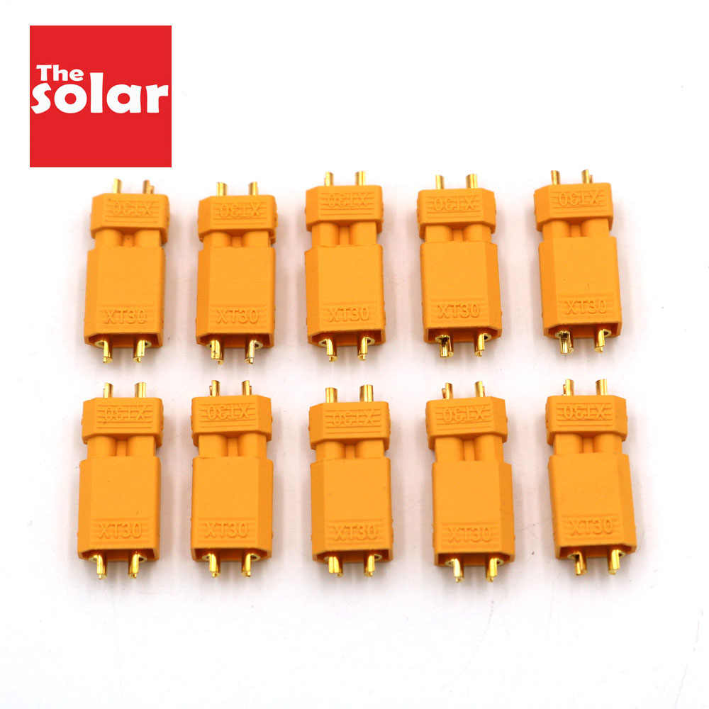 10Pairs/Lot XT30 XT-30 Plug Male Female Bullet Connectors Plugs For RC Lipo Battery Quadcopter Multicopter XT30U