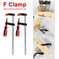 Nice DIY Heavy Duty General Purpose F Clamp Woodworking High Strength Hand Saw Tool Carpentry Clamps Hand Tools