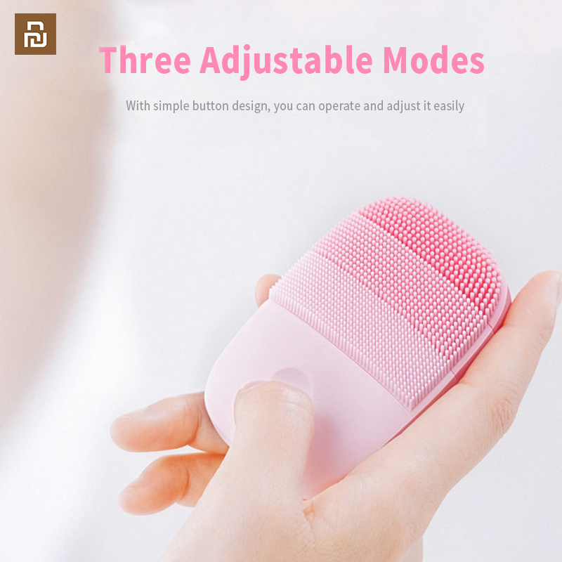 Image 4 - Youpin inFace Smart Sonic Clean Electric Deep Facial Cleaning Massage Brush Wash Face Care Cleaner RechargeableSmart Remote Control   -