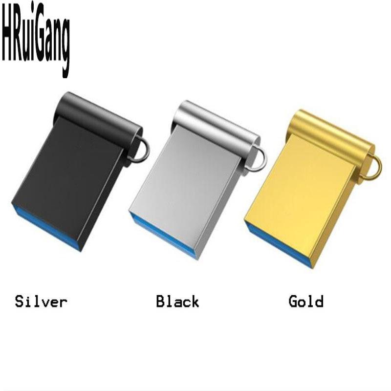 100% Real Capacity USB Flash Drives 64gb 128gb Mini Usb 8GB 16GB 32GB Metal Pen Key Usb2.0 U Disk Flash Memory Card Pendrive Sti