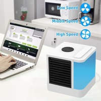 2018 NEW Cooler Cheap Arctic Air Quick & Easy Way To Cool Any Space Air Conditioner Device Home Office Desk Blue|Fans|   -