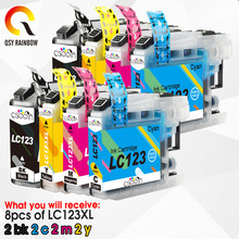 LC123 LC-123 LC 123 XL LC123XL чернильные струйные картриджи для принтера Brother MFC J4410DW J4510DW J4610DW J4710DW J470DW J6920DW