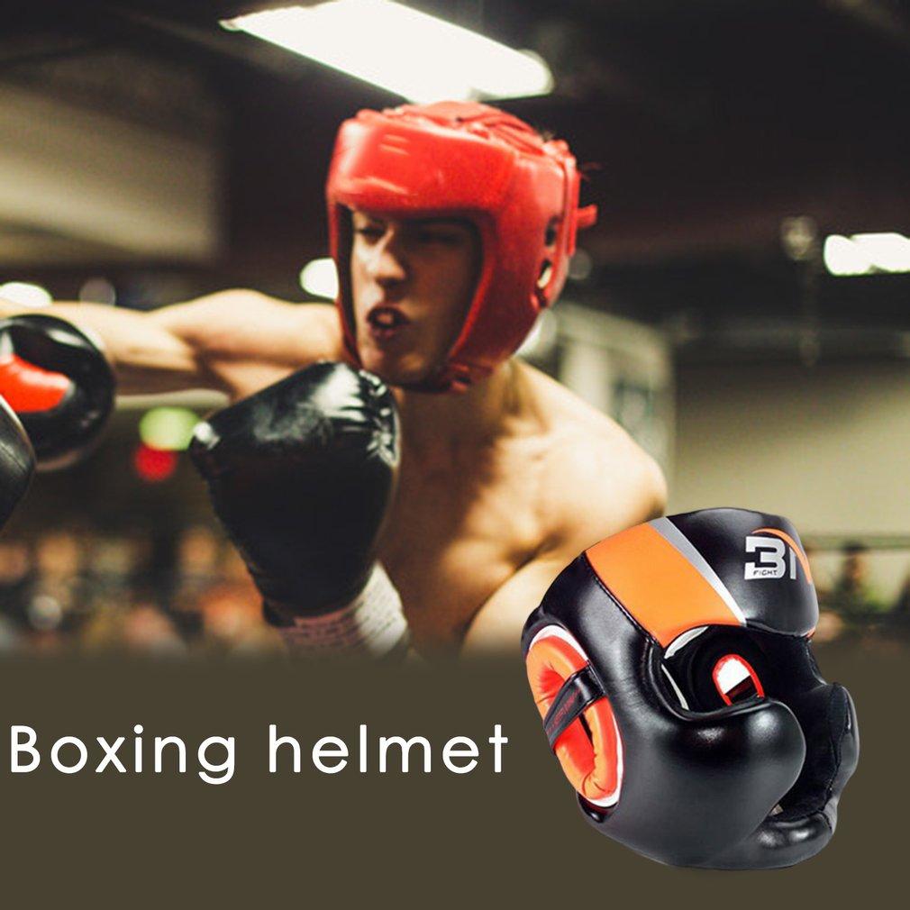 Boxing-Helmet Taekwondo-Head-Guard Gym-Equipment Full-Covered Training Sparring Muay-Thai