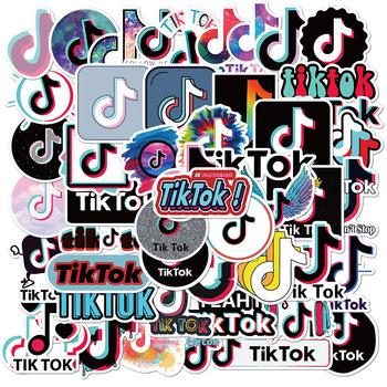 50 sztuk zestaw naklejki z Logo na telefon Laptop bagaż Scrapbooking Graffiti pamiętnik etykiety papiernicze naklejki na samochód tanie i dobre opinie Disney CN (pochodzenie) 4-8cm Sunscreen and waterproof TZ-among us
