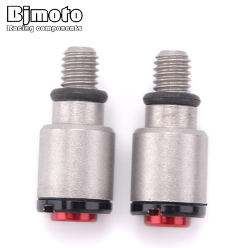 BJMOTO Universal M5 screws Motorcycle CNC Fork Bleeder Valve For Honda CRF250R CRF150R CR500 CR250 CR125 CR85 CR80 moto parts image