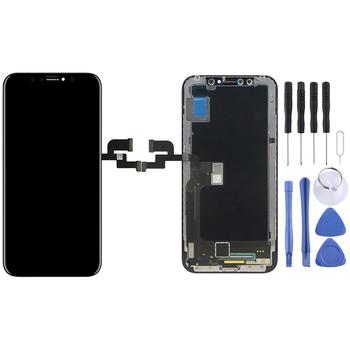 TFT Material Digitizer Assembly(LCD + Frame + Touch Pad) for iPhone X(Black)