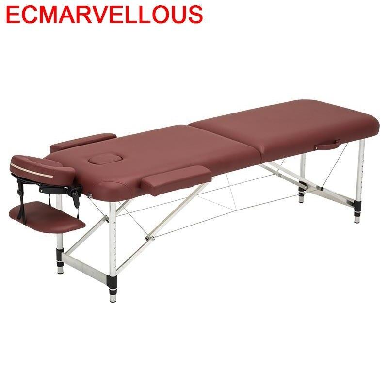 Silla Masajeadora Letto Pieghevole Masaj Koltugu Beauty Furniture Salon Chair Folding Table Camilla Masaje Plegable Massage Bed