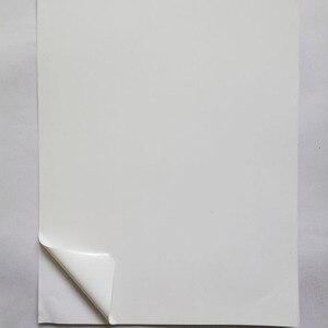 Image 2 - Papel frágil da etiqueta do escudo do ovo a4 inviolável da etiqueta para a impressora do laser