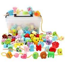 150 шт деревянные детские игрушки для дошкольного обучения