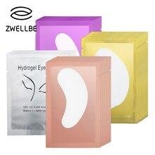 Gel-Patch Wraps Eyelash-Pad Paper-Sticker Makeup-Tools Grafting for 10/20/50-pairs