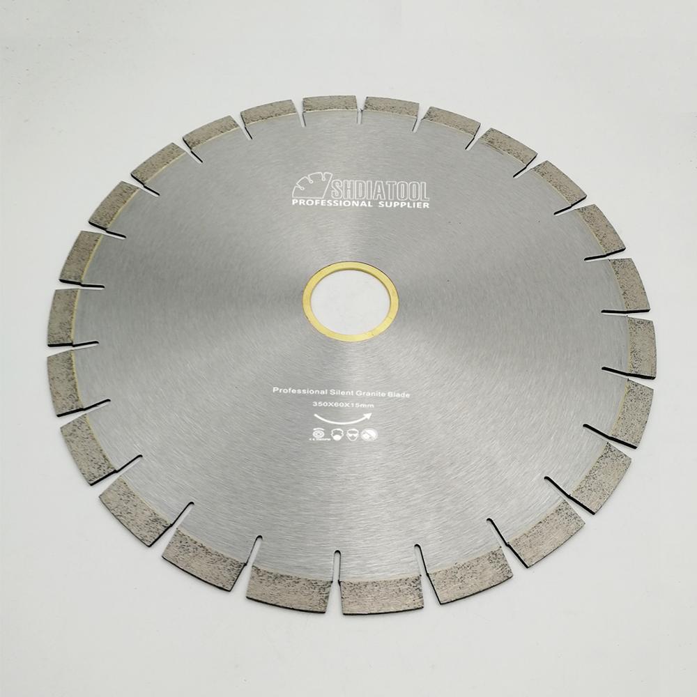DIATOOL 1pc 350mm Vacuum Brazed Diamond Blade For All Purpose 14 Demolition Blade For Stone Iron Steel - 5