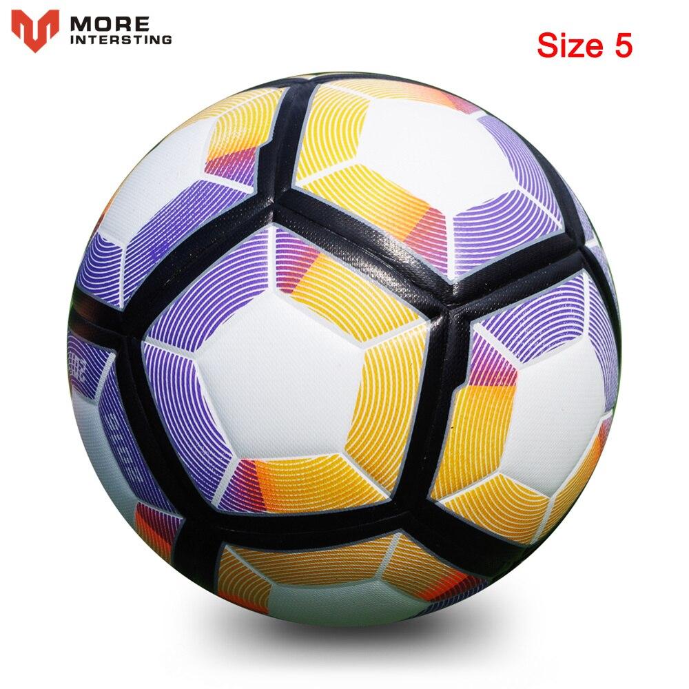 Russia Professional Size 4 Size 5 Football Premier PU Seamless Soccer Ball Goal Team Match Training Balls League futbol bola 19