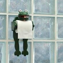 Креативные лягушки в форме бумажные полотенца Держатель для полотенец забавная туалетная бумага держатель для салфеток вешалка деревянная полка Бытовая твердая древесина
