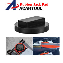 Floor Slotted Car Rubber Jack Pad Frame Protector Adapter Jacking Disk Pad Tool for Pinch Weld Side Lifting Dis