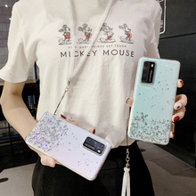 Luxury Glitter Transparent Phone Case For Huawei