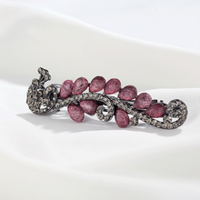 CHIMERA Vintage Crystal Hair Pins for Women Clips Glitter Metal Barrette Elegant Jewelry Rhinestone Headwear Accessory
