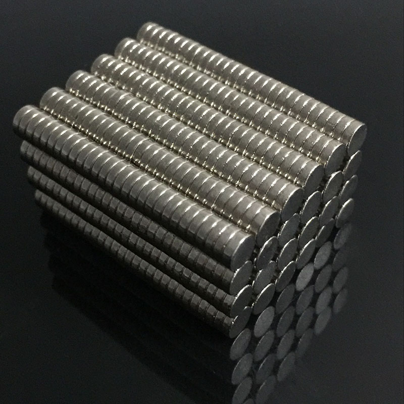 200/100pcs Mini N35 Neodymium Permanent Magnet Sheet Small Round Super Strong Powerful Magnetic Magnets Disc For Gallium Metal