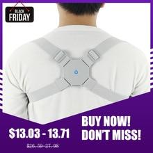 Aptoco réglable dos Intelligent Posture correcteur dos Intelligent orthèse soutien ceinture épaule entraînement ceinture Correction colonne vertébrale dos