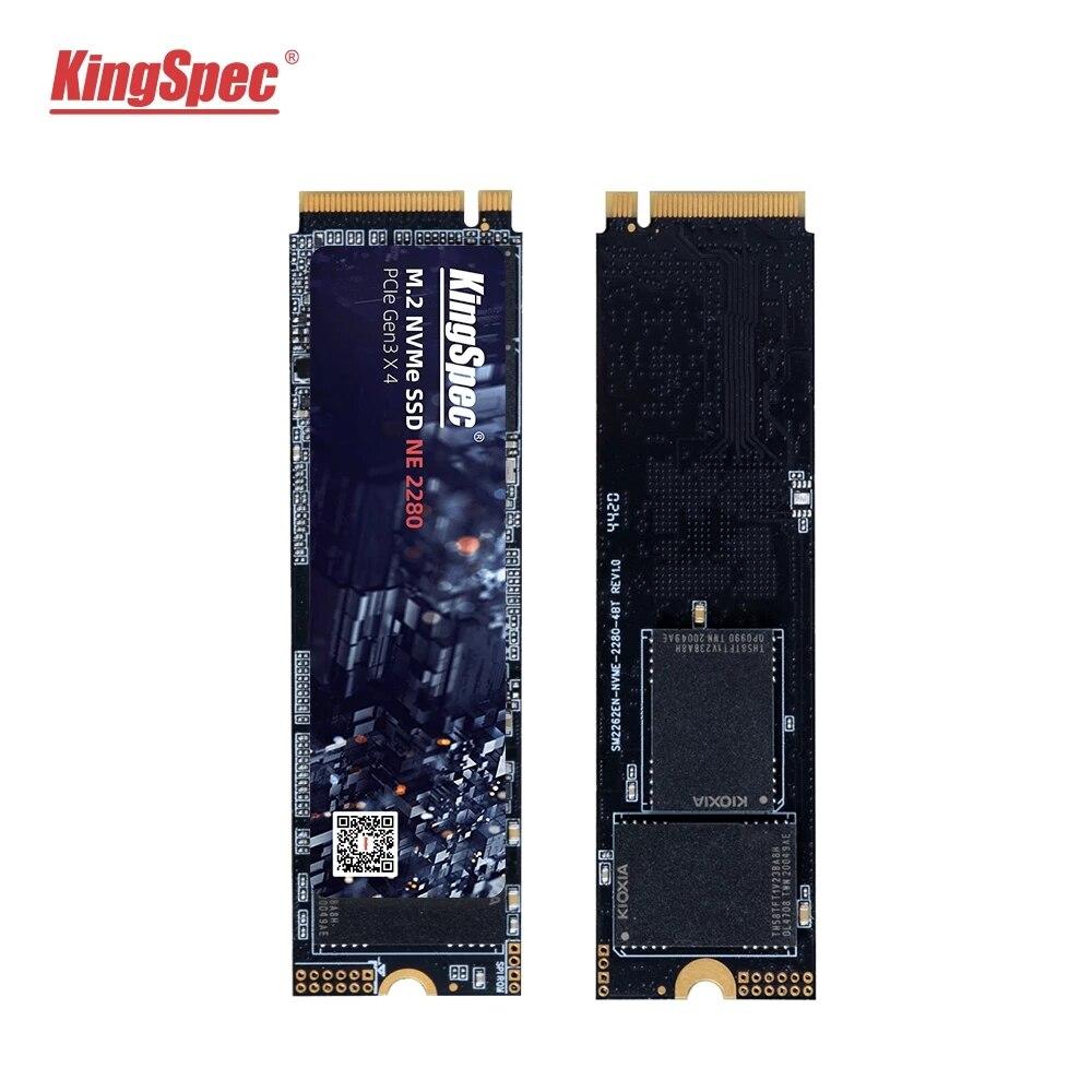Горячая Распродажа KingSpec M.2 NVME ssd M2 1 ТБ PCIe NVME SSD 128 ГБ 512 256 2 ТБ твердотельный накопитель 2280 внутренний жесткий диск hdd для настольного компьютер...