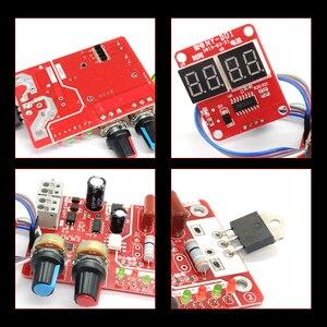 Image 2 - Панель управления аппаратом для точечной сварки, строительная плата управления, плата управления таймером, током, временем и током, цифровой дисплей 40 А/100 А