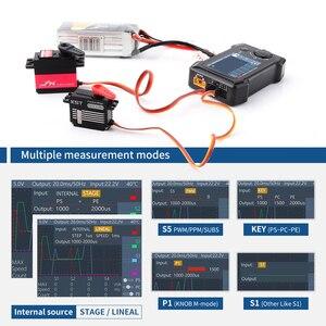 Image 5 - متوفر في المخزون أدوات صغيرة ST8 2.4 بوصة TFT 7 28 فولت 8 قنوات مؤازرة اختبار متكامل 4 اختبار إشارة واجهة مستقلة