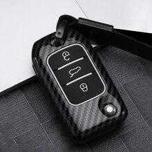 Цинковый сплав+ силиконовый автомобильный чехол для дистанционного ключа для Roewe RX5 MG ZS 3 кнопки RX3 защитный чехол пряжка