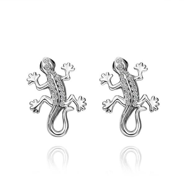 Earrings wedding earrings for women Inlaid Crystal Earrings Gold