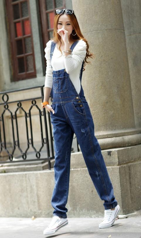 ремень джинсы женские брюки новый корейская волна симпатичные джинсовые подтяжк брюки