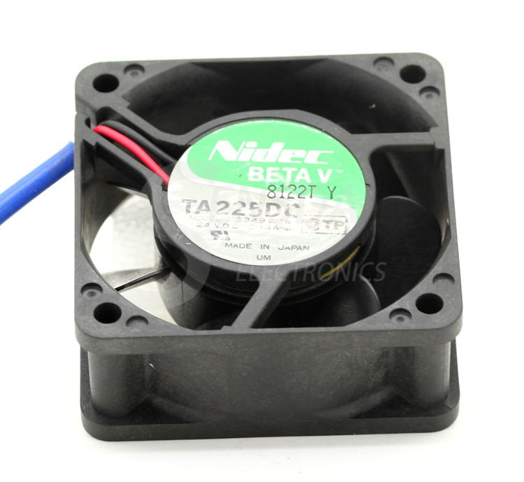 NIDEC TA225DC M33497-16 6025 60mm 6cm DC 24V 0.14A server inverter axial cooling fans