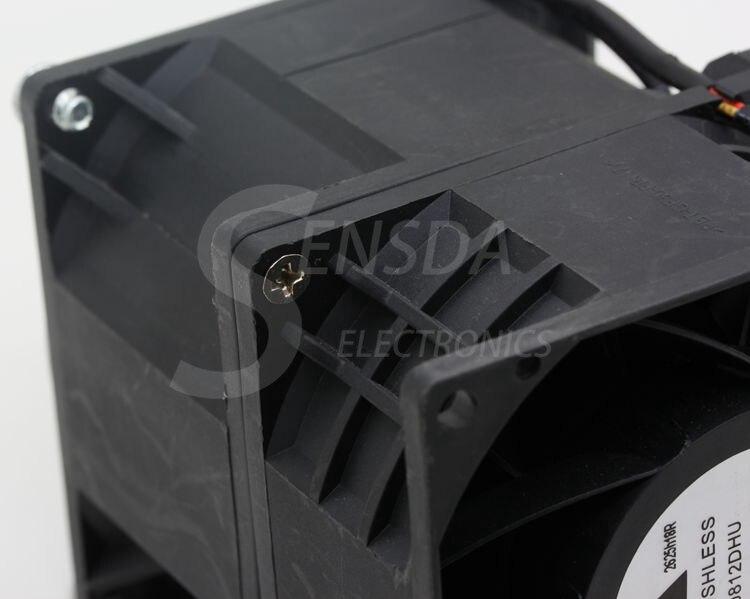 Для delta GFB0812DHU 80 мм 8 см высокоскоростной вентилятор с защитой от ударов DC 12 В 5.88A Мощный двойной двигатель промышленные Охлаждающие вентиляторы