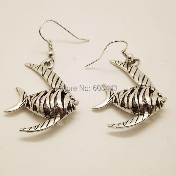 Unique Tibetan Silver Color Animal Earrings