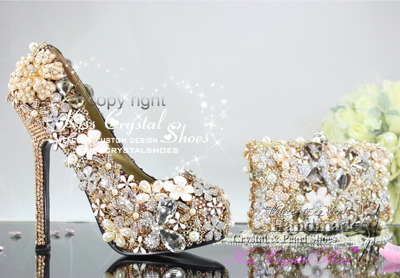 Aliexpress Italian Shoes And Bag Gold Wedding High Quality Women Shoeatching From Reliable Shoe Rack Suppliers On