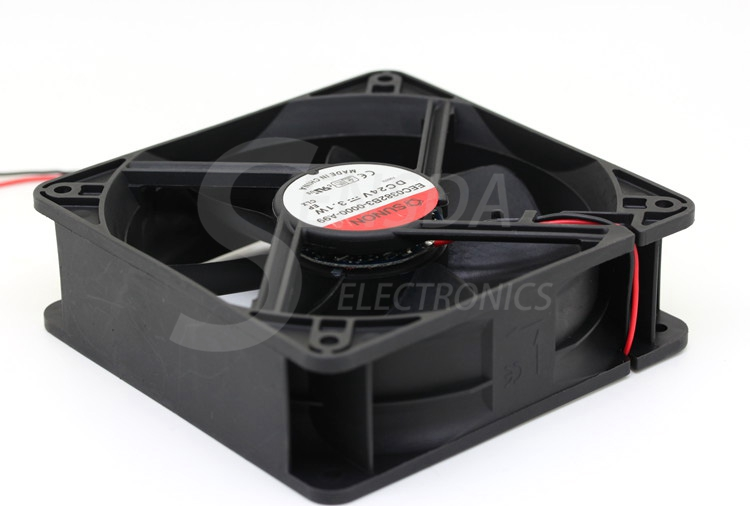 Sunon EEC0382B3-0000-A99 12038 120mm 12cm DC 24V 3.1A 2-wire -pin server inverter case axial cooling fans