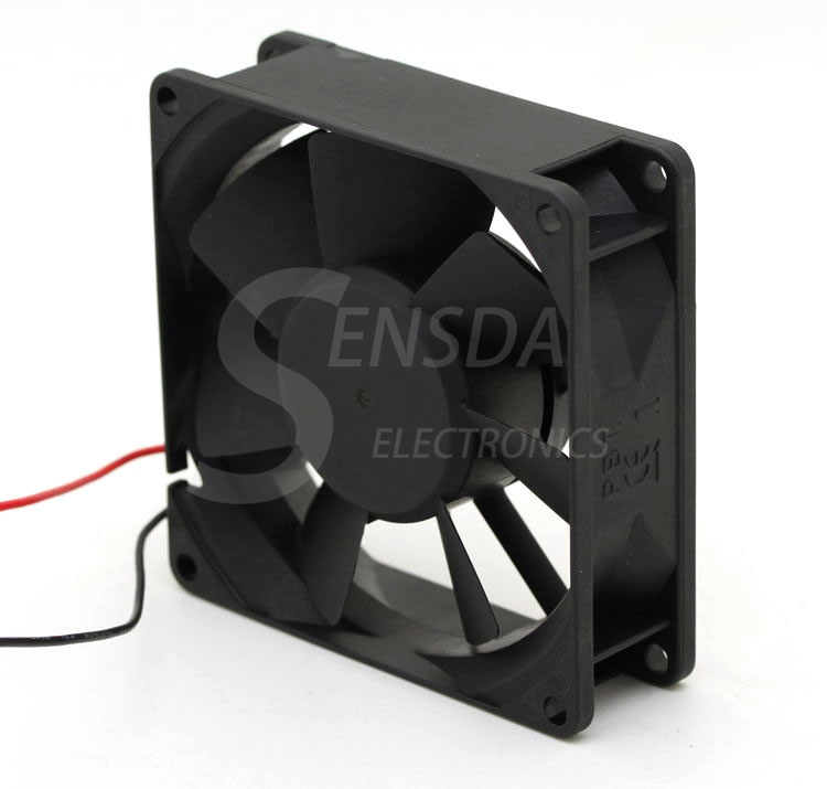 Sunon KD1208PTB1 8cm quiet silent 80mm 8025 DC 12V 1.7W 2 wire axial inverter cooling fans blower