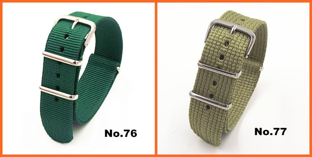 оптовая продажа 2000 шт./лот высокое качество 20 мм нейлон смотреть полоса нато водонепроницаемые часы ремешок моды вах группа-81 цвет доступны