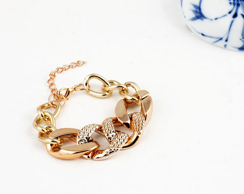 cheap hot sell Jewelry Fashion Gold silver color Alloy Chain