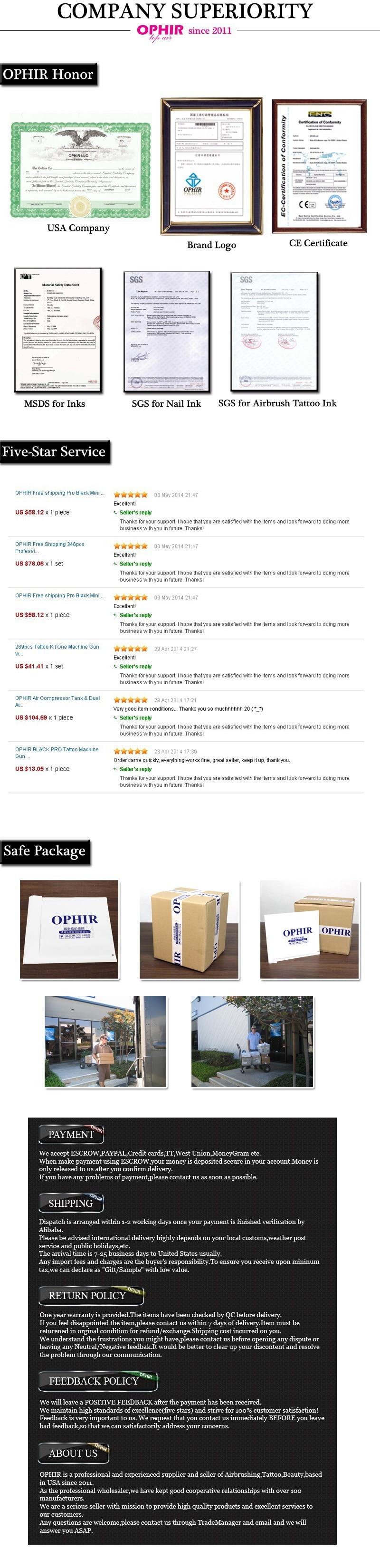 OPHIR Glitter Tattoo 6 Colors Glitter Powder for Body Art Paint Nail Temporary Glitter Tattoo Kit with 10x Stencils Glue _TA054 20