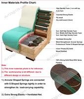 архаический цвет американский конструкции - отбор пу покрыты экономический кожа комплект гостиной диван 1 2 3 мест с твердой древесины футы