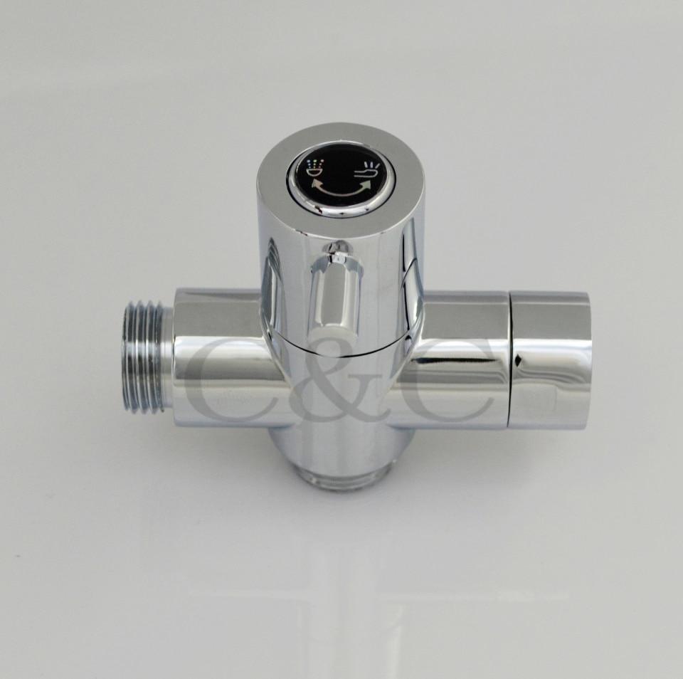 Самый продаваемый продукт 2012! Одна ручка ABS хром shattaf мобильный биде с подарком- A201S