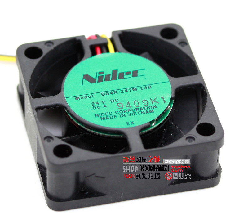 nidec D04R-24TM 14B 4015 40mm 4cm DC 24V 0.06A inverter axial cooling fans