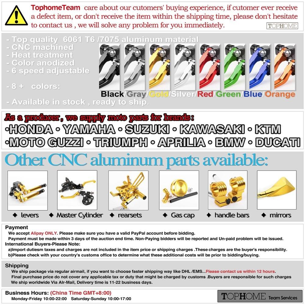 Для Triumph Speedmaster 2005- Короткие сцепления Тормозные ручки 10 видов цветов ЧПУ Регулируемая 06 07 08 09, 10, 11, 12, 13, 14, 15 лет