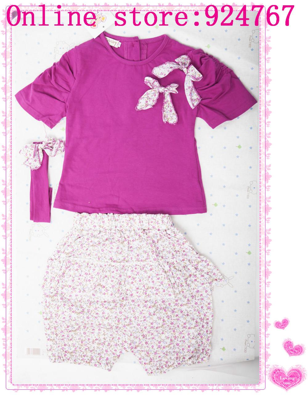 детская летняя одежда комплект детей - + брюки + Hole зануда 3 шт. печать комплект летучая мышь костюм цве