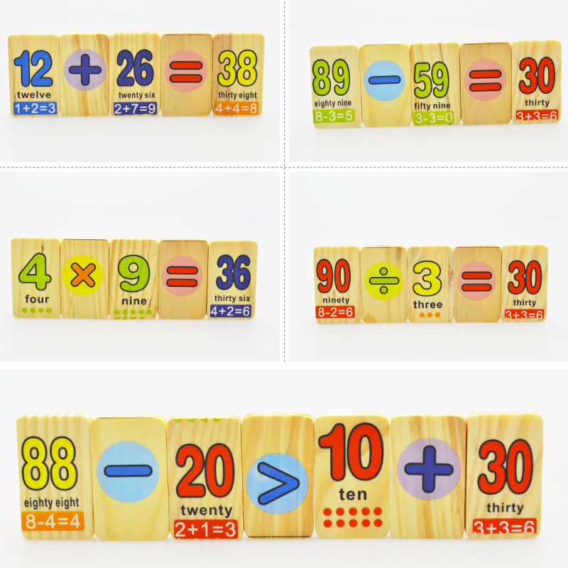 Free delivery learning education Addition and subtraction of 110PCS ...