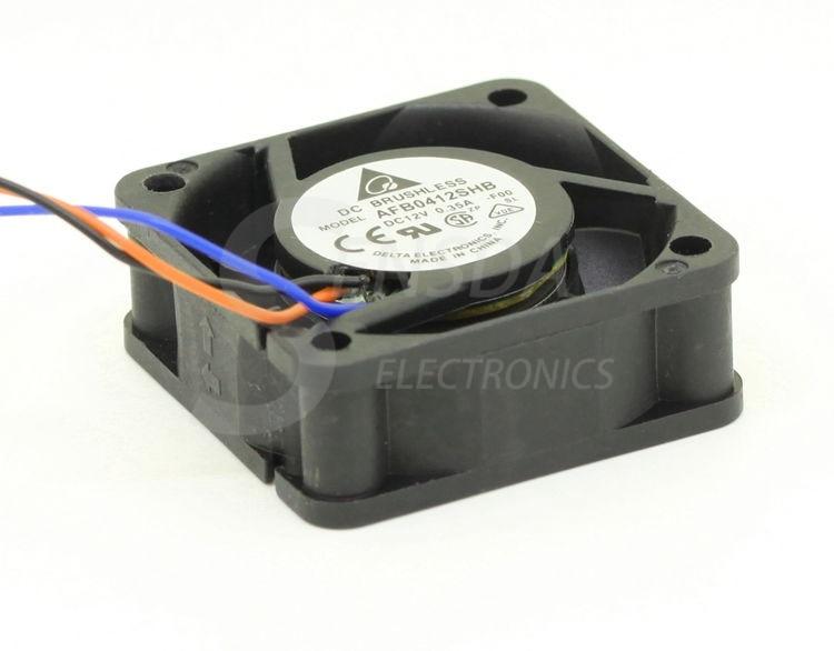 Delta AFB0412SHB 4015 4CM 40mm 12V 0.35A silent mini micro quiet computer cpu server axial cooling fans tachometer