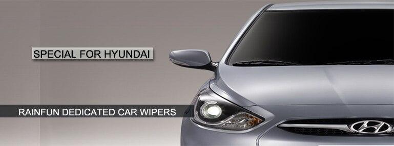 RAINFUN 22+ 14 дюймов специальный автомобиль стеклоочистителя для HYUNDAI Getz(02-09), автомобиль стеклоочиститель, автоматическое стеклоочиститель