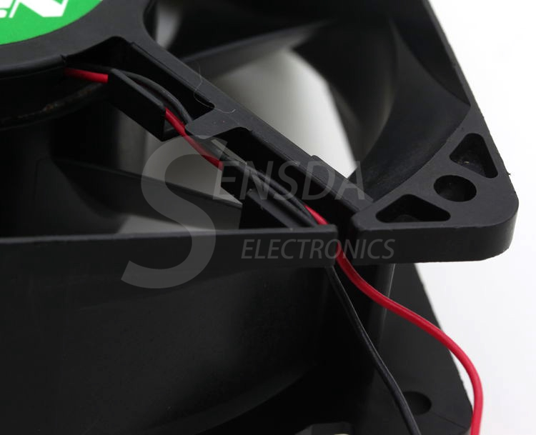 NIDEC TA450DC B34978-55 12038 12cm 120mm 24V 0.41A 2Wire Server Inverter axial Cooling Fan
