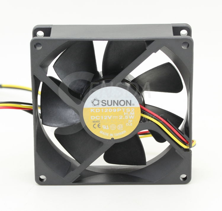 SUNON PMD1204PQB2-A 4028 12V 2.6W 40mm 4cm server inverter axial cooling fans
