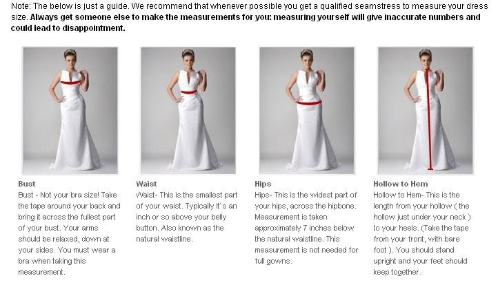 prom dress styles chart,formal dress styles chart,